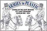 Crimean War 1854 13th Light Dragoons Charge of the Light Brigade (5 Mounted) 1/32 Armies in Plastic by Armies in Plastic