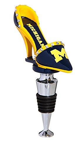 University of Michigan High Heel Shoe Bottle (Jersey Boy Wine)