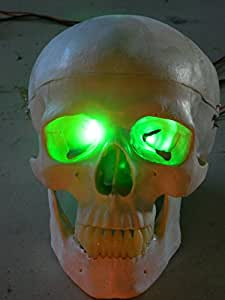 Green Led Eyes For Mask, Skulls and Halloween Props