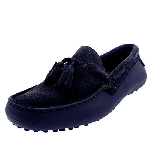 Menns H Ved Hudson Florio Ii Slip På Mokasiner Kjøre Smart Loafers Sko Navy