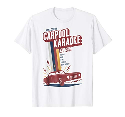 The Late Late Show with James Cordon Carpool Colors T-Shirt (The Late Late Show With Craig Ferguson Episodes)