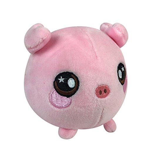 Toy Kids Plush Squishamals Squeezamals 3.5 Super Squishy Foamed Stuffed Animal Sprinkle Donut Lipgloss Nellie 1 Bonus DAN A Squishy Squeezable Cute Soft Adorable Penelope