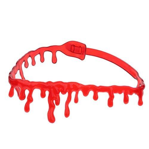 HOPU Horror Blood Drip Necklace Fancy Dress Fun Joke Choker for Halloween (Toy Fancy Dress Ideas)