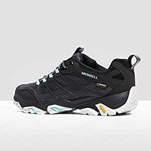 Merrell Moab FST GTX Womens Walking Shoes UK 7 Black Teal