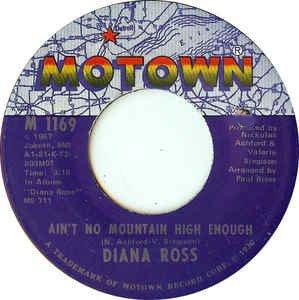 DIANA ROSS - ain't no mountain high enough / can't it wait