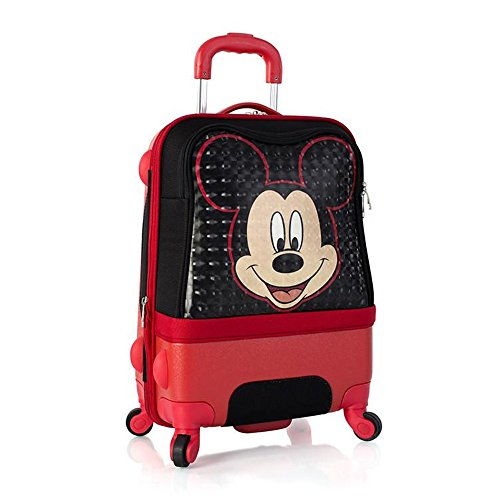Price comparison product image Heys Disney Clubhouse 21 Inch Hybrid Carry on Spinner Luggage for Kids [Mickey]