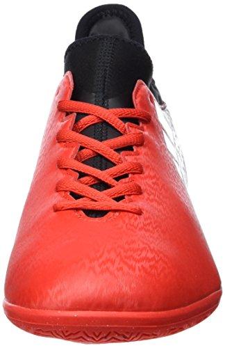 Adidas Herren X 16.3 In Fußballschuhe Rot (rosso / Bianco Ftwr / Nucleo Nero)