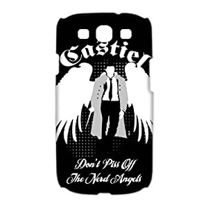 Custom Your Own Unique Supernatural castiel SamSung Galaxy S3 I9300 Cover Snap on Supernatural Galaxy S3 Case by runtopwell