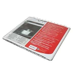 Electrolux - Estante universal para frigorífico (extensible y ajustable), color cromo