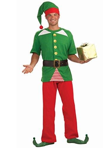 Forum Novelties Men's Jolly Elf Kit, Multi, One