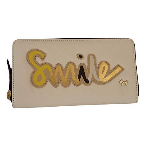 'smile' Purse Large Leather Ivory Radley Zipped fqxdFRZHw