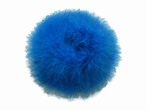 - Moonlight Feather   2 Yards - Turquoise Blue Turkey Medium Weight Marabou Feather Boa 25 Gram Costume