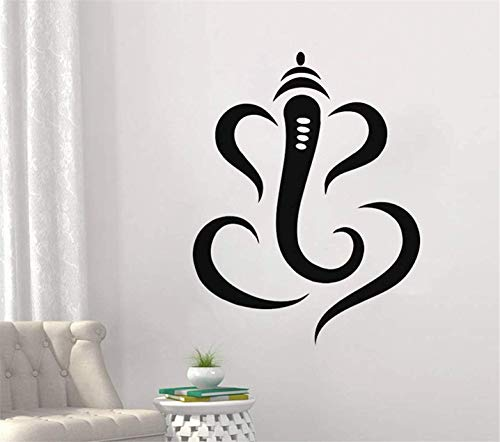 FSDS Hindu Lord Ganesha Single Indian Elephant Home Interior Bedroom House Asia India Design Wall