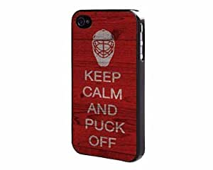 Keep Calm And Puck Off Case For Sam Sung Note 3 Cover Back Case