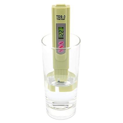 ARTGEAR 2 en 1 TDS Medidor con Función de Temp, Agua Calidad Pureza Tester,