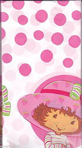 Strawberry Shortcake Plastic Table Cover (1ct) (Shortcake Table Strawberry)