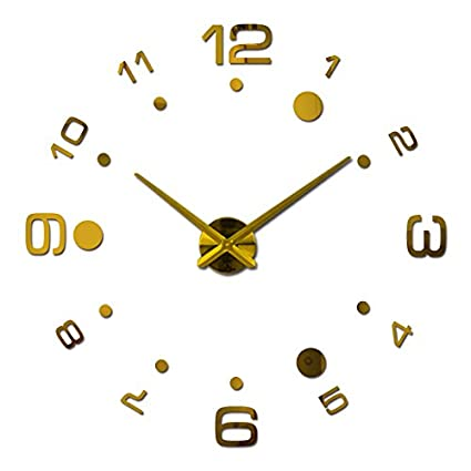 Wall Clocks Wall clock diy clocks reloj de pared Quartz watch Living Room Simple Love Circular