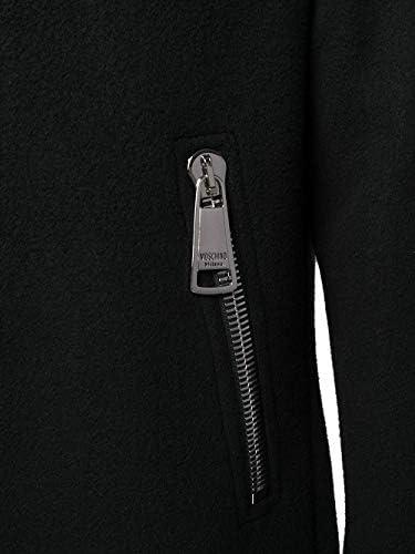 Moschino Luxury Fashion Uomo A061252120555 Nero Lana Cappotto | Autunno-Inverno 20