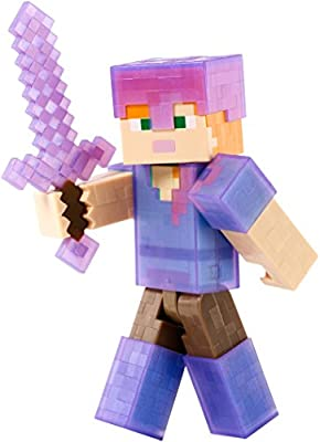 "Minecraft Armor Up Alex 5"" Figure"