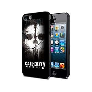 Cod03 Call of duty Ghost : Juego Funda de silicona el Negro para iPhone 6