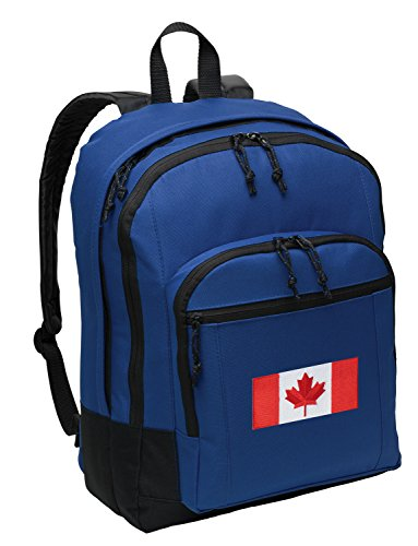 Canadian Flag Backpack Canada School Bag or Travel (Backpack Flag Canada Women compare prices)