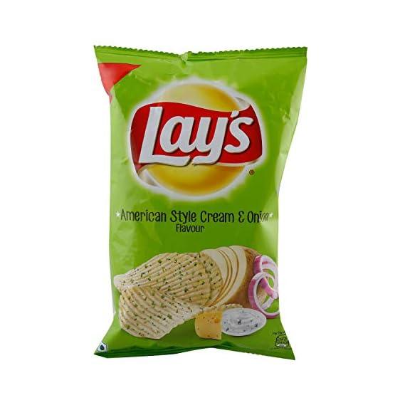 Lay's Potato Chips - American Style Cream & Onion, 52g