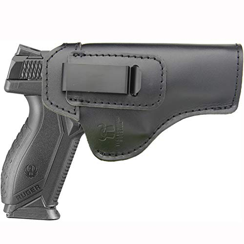 IWB Holster Fits: Ruger American 9MM / 45 AUTO Pistol (Full Size)- Inside Waistband Concealed Carry Pistols Holster -Right Hand Draw