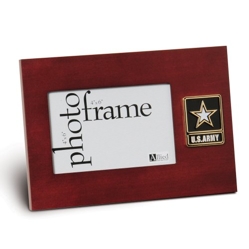 (Allied Products Frame Go Army Medallion Desktop Picture Frame, 4 by)