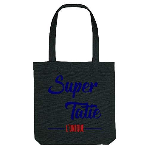 Noir Super Gs tatie Tote Coton bag qvT1Az