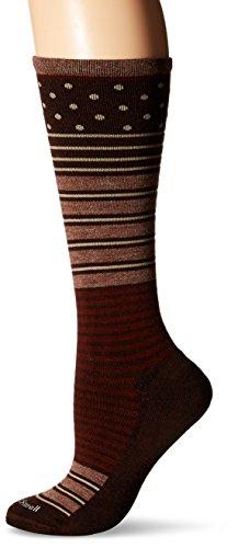 Sockwell Women's Twister Socks, Espresso, Medium/Large