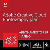Creative Cloud Photography plan | Standard 1TB | 1 Anno | PC/Mac | Codice d'attivazione via email