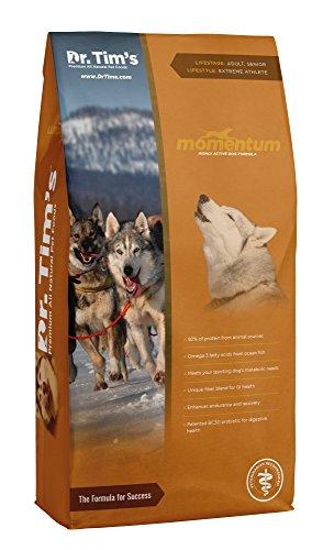 Dr. Tim'S Premium All Natural Dog Food Momentum Highly Active Dog Formula 40#