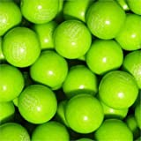 "Green Apple Dubble Bubble Gumballs 1"" 5lb"