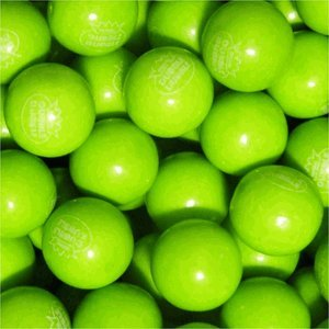 (Green Apple Dubble Bubble Gumballs 1
