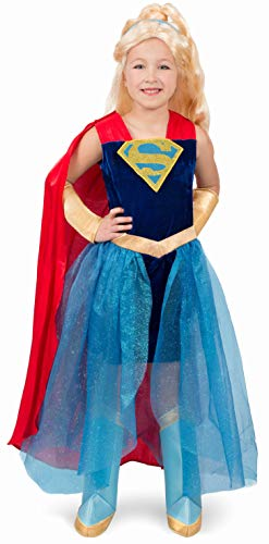 Princess Paradise Dc Superhero Girls Supergirl Costume, Medium -
