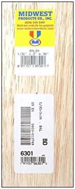 "Madera de balsa Hoja 5 X 1//32 /""de espesor x 3 pulgadas de ancho x 36 pulgadas de largo-free continental del Reino Unido Post"