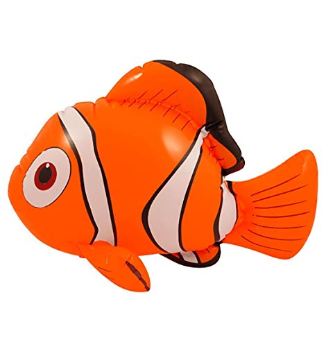 Rimi Hanger Inflatable Blow Up Party Fancy Dress Accessory Hen Stag Decoration Beach Toys (Inflatable Clown Fish) One Size (Clown Inflatable)