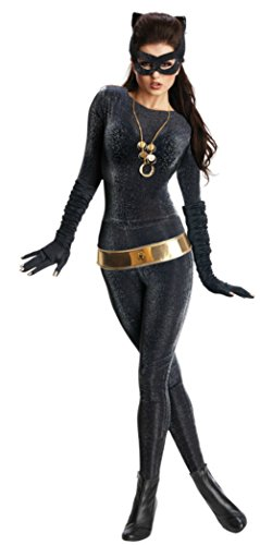 Rubies Womens Grand Heritage Catwoman The Dark Knight Fancy Halloween Costume, Large (12-14) (Catwoman Dark Knight Halloween Costume)