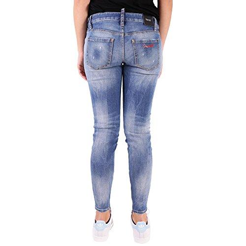 S75lb0004s30595470 Blu Donna Jeans Cotone Dsquared2 wqx4vYAA