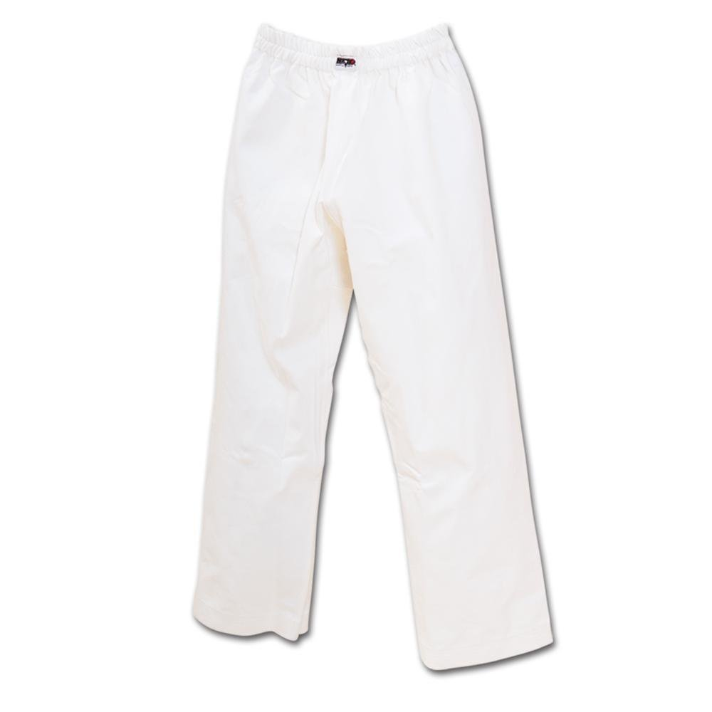 Macho 7oz Student Karate Gi Pants - White / Size 0 by Macho Martial Arts