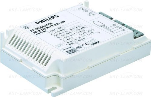 - Philips High Frequency 1x40 PL-L Electronic Ballast - Runs 1x 40W PL-L Lamp - [EU SPECIFICATION: 220-240v]