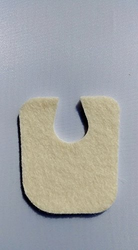 Atlas Biomechanics Felt 1/16'' Callus Cushions, 100 Pack