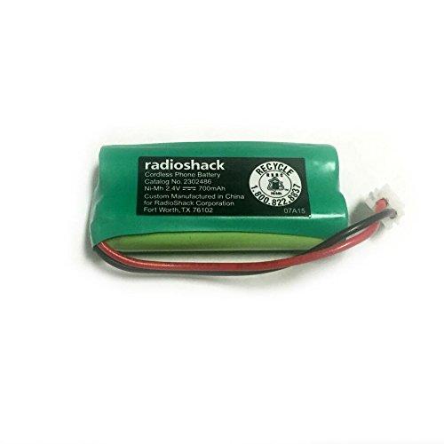 RadioShack 2.4V/700mAh Cordless Phone Battery for VTech (2302486)