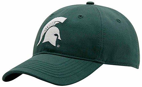 NCAA Michigan State Spartans Adult Unisex Epic Washed Twill Cap  Adjustable (Michigan State Stocking Cap)