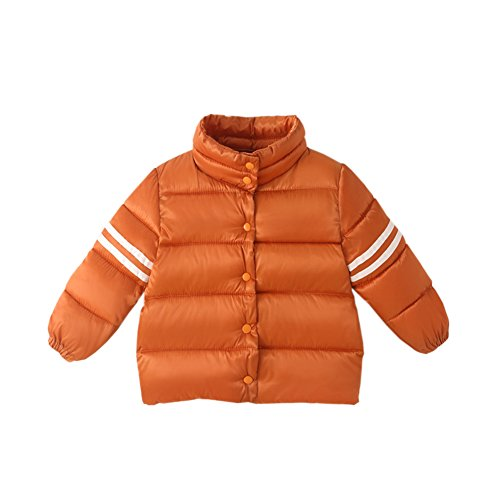 Gray Solid Baby Fairy Thick Winter 9 Snowsuit Purple Warm Cotton Size 12M Orange Boys Outwear Jacket Down Toddler RUvqa