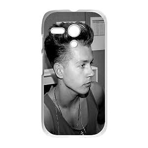 Motorola G Cell Phone Case White tristan Evans DUV 11D Back Case