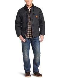 Men's Arctic Quilt Lined Sandstone Traditional Coat C26