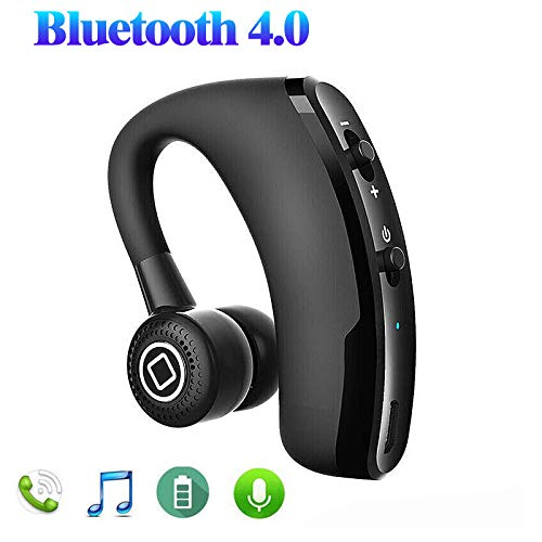 EEEKit Wireless Earbud V9 Bluetooth 4.0 Stereo Singal Ear Sports Headset in-Ear Earphone Noise Cancelling Handsfree Headphone with Built-in HD Mic
