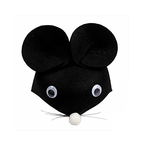 Halloween Costumes For Rats (Farm Animal Cartoon Kids Mask Hat for Cosplay Halloween Birthdays Theme Party Costume)