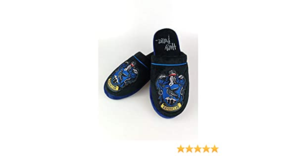 Amazon.com | HARRY POTTER Official Ravenclaw Slippers Mens Large UK 8-10 | Slippers